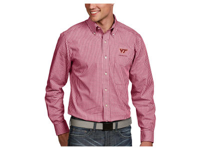 Virginia Tech Hokies Antigua NCAA Men's Associate Button Up Shirt