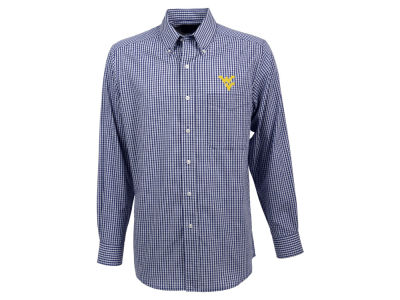 West Virginia Mountaineers Antigua NCAA Men's Associate Button Up Shirt