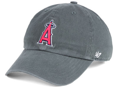 Los Angeles Angels '47 MLB Kids Charcoal CLEAN UP Cap