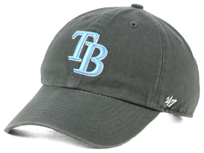 Tampa Bay Rays '47 MLB Kids Charcoal CLEAN UP Cap