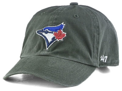 Toronto Blue Jays '47 MLB Kids Charcoal CLEAN UP Cap