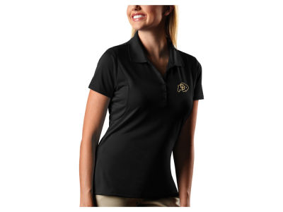Colorado Buffaloes Antigua NCAA Women's Pique Xtra-Lite Polo