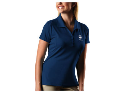 Connecticut Huskies Antigua NCAA Women's Pique Xtra-Lite Polo