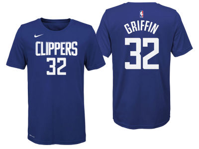 Detroit Pistons Blake Griffin Nike NBA Youth Icon Name and Number T-Shirt