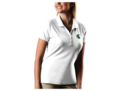 Michigan State Spartans Antigua NCAA Women's Pique Xtra-Lite Polo