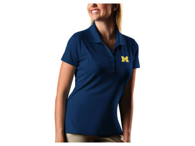 Michigan Wolverines Antigua NCAA Women's Pique Xtra-Lite Polo