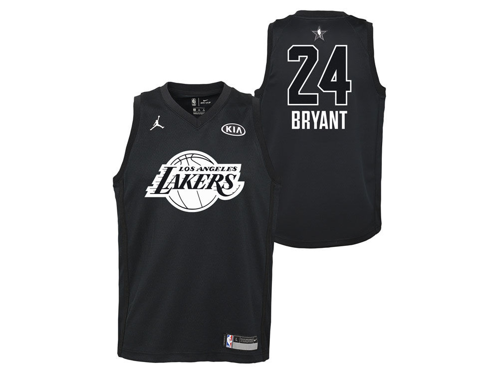 Los Angeles Lakers Kobe Bryant Nike 2018 NBA Youth All-Star Swingman Jersey   1ac4daf98