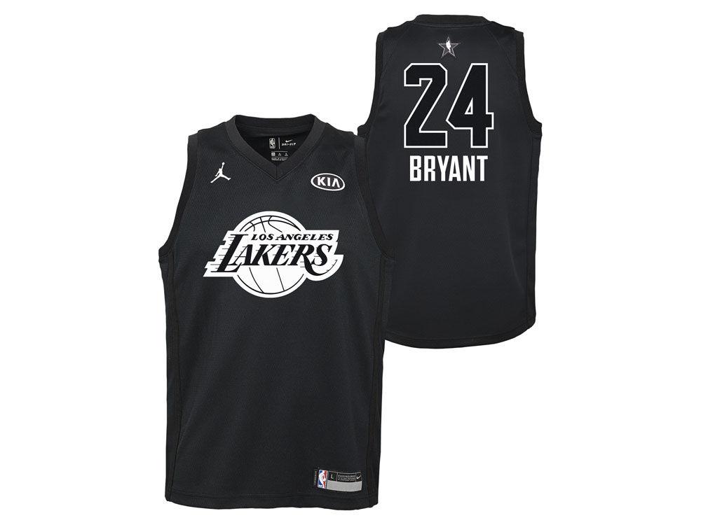 99ae6fdc0 Los Angeles Lakers Kobe Bryant Nike 2018 NBA Youth All-Star Swingman Jersey