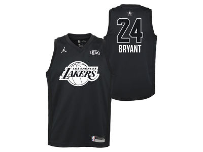 Los Angeles Lakers Kobe Bryant Nike 2018 NBA Youth All-Star Swingman Jersey