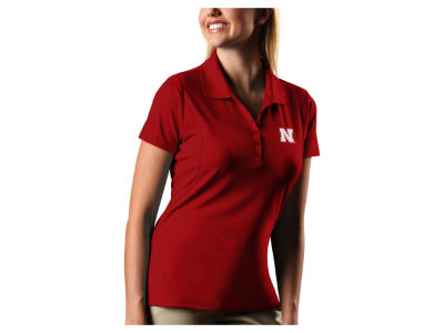 Nebraska Cornhuskers Antigua NCAA Women's Pique Xtra-Lite Polo