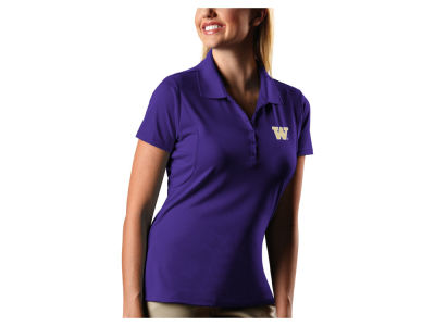 Washington Huskies Antigua NCAA Women's Pique Xtra-Lite Polo