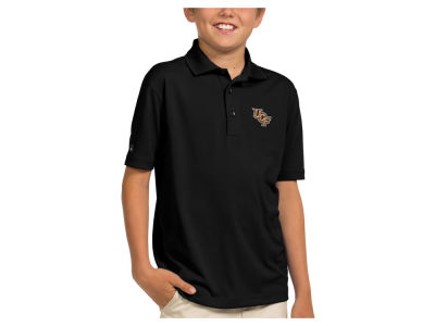 University of Central Florida Knights Antigua NCAA Youth Pique Xtra-Lite Polo