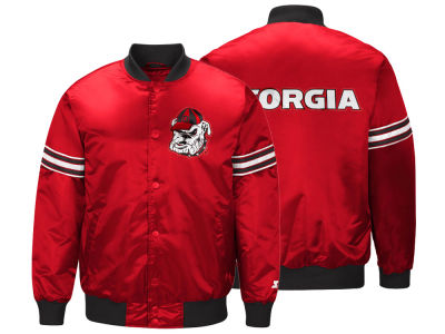 Georgia Bulldogs G-III Sports NCAA Men's Draft Pick Varsity Satin Jacket