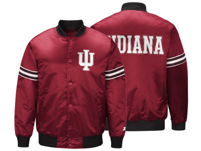 9d899be654c Indiana Hoosiers G-III Sports NCAA Men s Draft Pick Varsity Satin Jacket