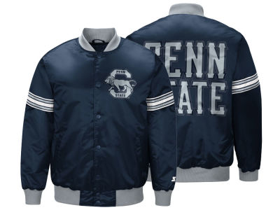 Penn State Nittany Lions G-III Sports NCAA Men's Draft Pick Varsity Satin Jacket