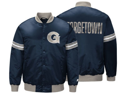 Georgetown Hoyas G-III Sports NCAA Men's Draft Pick Varsity Satin Jacket
