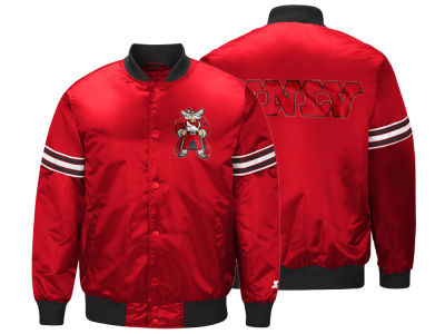 UNLV Runnin Rebels G-III Sports NCAA Men's Draft Pick Varsity Satin Jacket