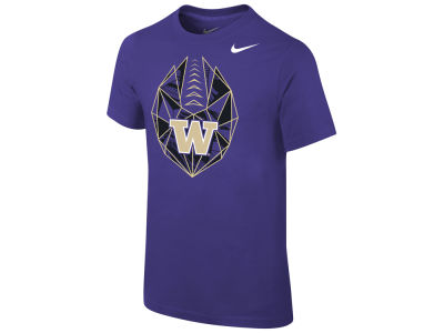 Washington Huskies Nike 2018 NCAA Youth Football Icon T-Shirt