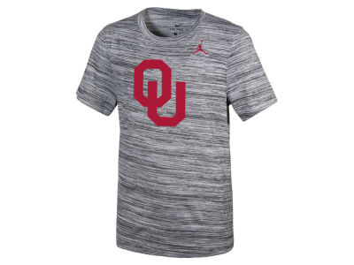 Oklahoma Sooners Jordan NCAA Youth Velocity Travel T-Shirt