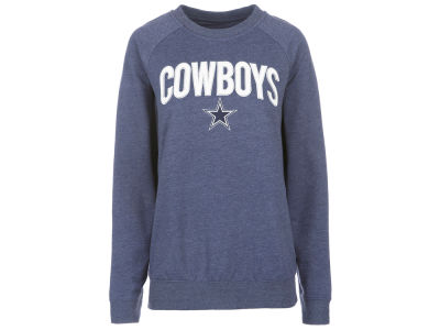 Dallas Cowboys DCM NFL Women's Colba Crew Neck Pullover Sweatshirt