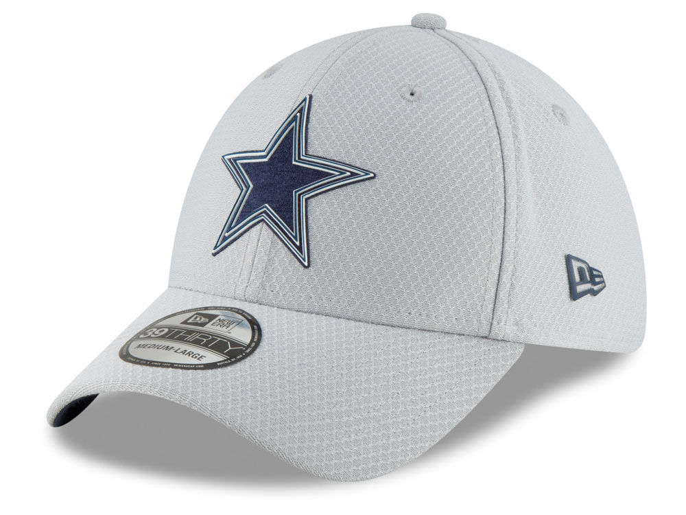 f916e16b5 Dallas Cowboys New Era 2018 NFL Training 39THIRTY Cap