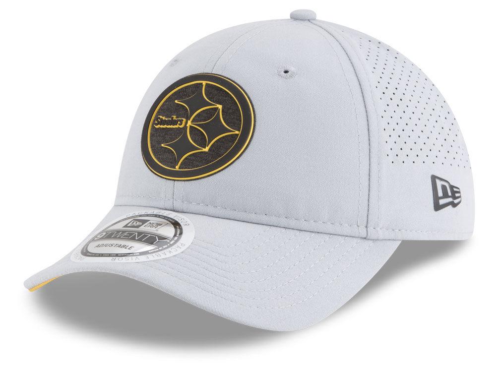 Pittsburgh Steelers New Era 2018 NFL Training 9TWENTY Cap  68764c342