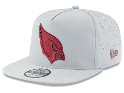 Arizona Cardinals New Era 2018 NFL Training Golfer A-Frame Snapback Cap