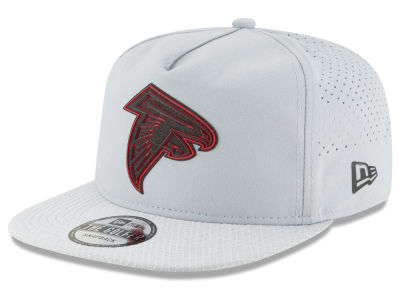 Atlanta Falcons New Era 2018 NFL Training Golfer A-Frame Snapback Cap