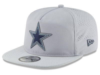 Dallas Cowboys New Era 2018 NFL Training Golfer A-Frame Snapback Cap