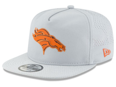 Denver Broncos New Era 2018 NFL Training Golfer A-Frame Snapback Cap