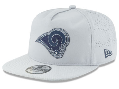 Los Angeles Rams New Era 2018 NFL Training Golfer A-Frame Snapback Cap