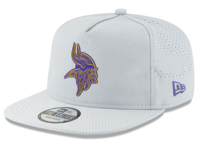 Minnesota Vikings New Era 2018 NFL Training Golfer A-Frame Snapback Cap