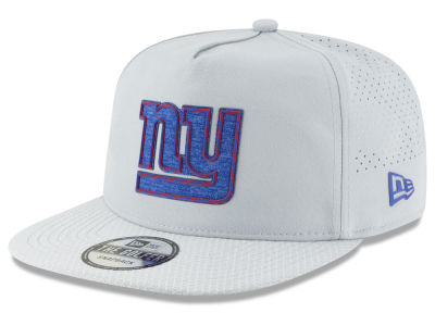 New York Giants New Era 2018 NFL Training Golfer A-Frame Snapback Cap