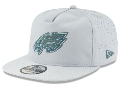 Philadelphia Eagles New Era 2018 NFL Training Golfer A-Frame Snapback Cap