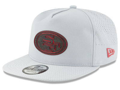 San Francisco 49ers New Era 2018 NFL Training Golfer A-Frame Snapback Cap