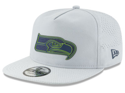 Seattle Seahawks New Era 2018 NFL Training Golfer A-Frame Snapback Cap