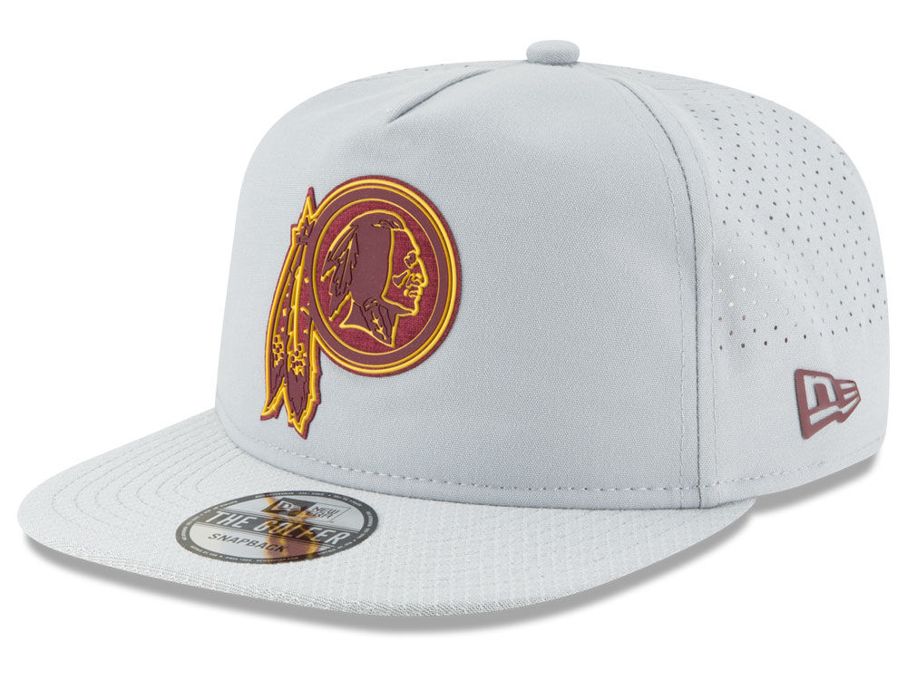 0337b2e444496 Washington Redskins New Era 2018 NFL Training Golfer A-Frame Snapback Cap