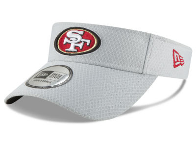 San Francisco 49ers New Era 2018 NFL Training Visor