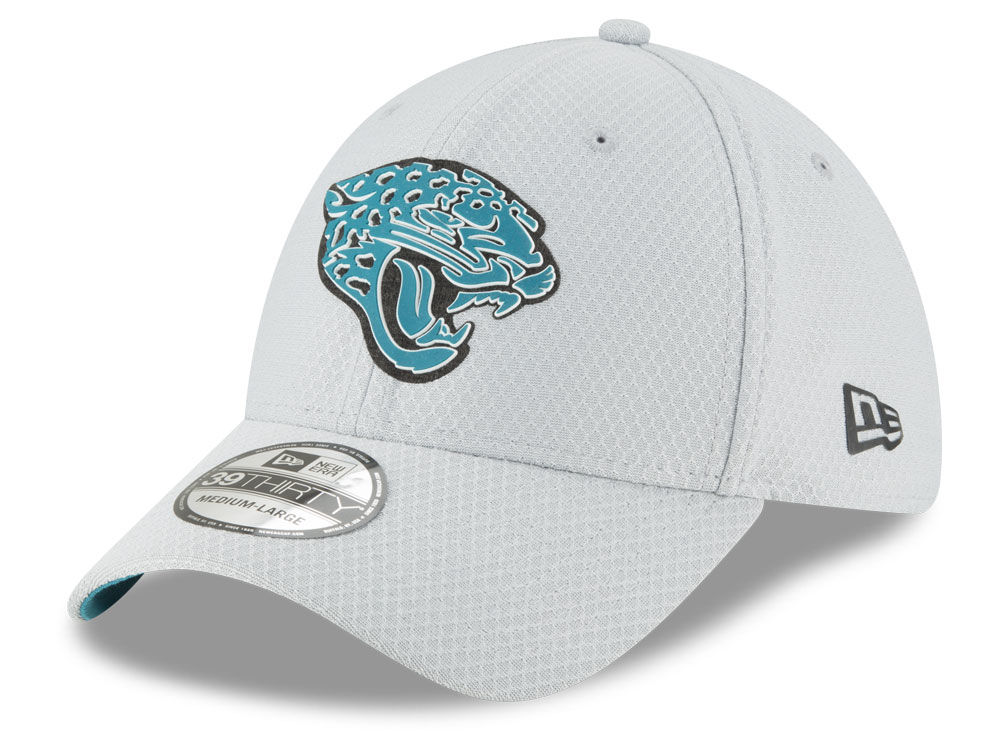 Jacksonville Jaguars New Era 2018 NFL Kids Training 39THIRTY Cap ... b1440b4de5d0