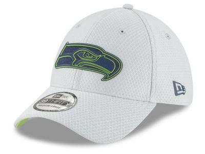 fb40ba8fa Seattle Seahawks New Era 2018 NFL Training 39THIRTY Cap