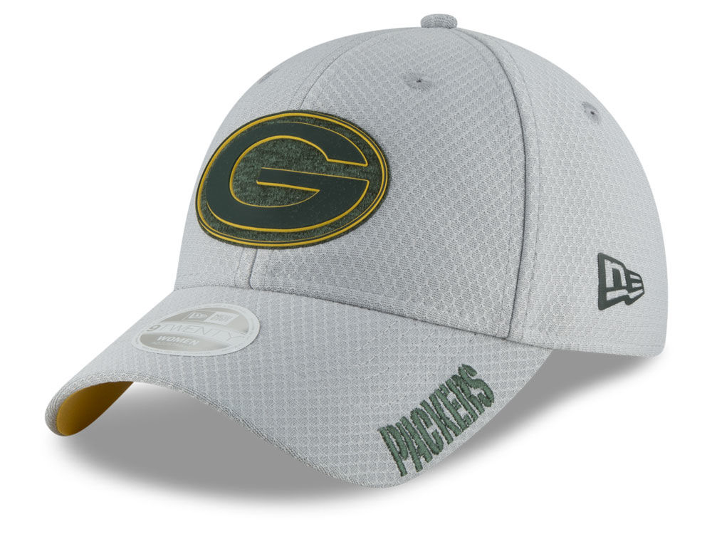 Green Bay Packers New Era 2018 NFL Women s Training 9TWENTY Cap ... 2fe709cad