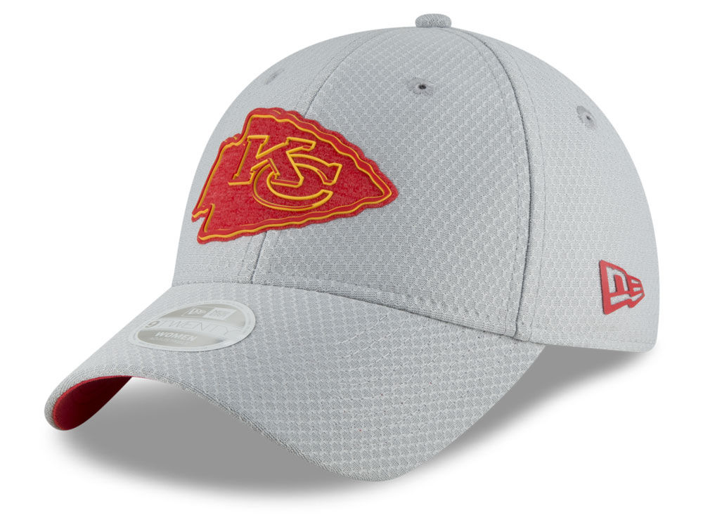 Kansas City Chiefs New Era 2018 NFL Women s Training 9TWENTY Cap ... 28f22ceb8