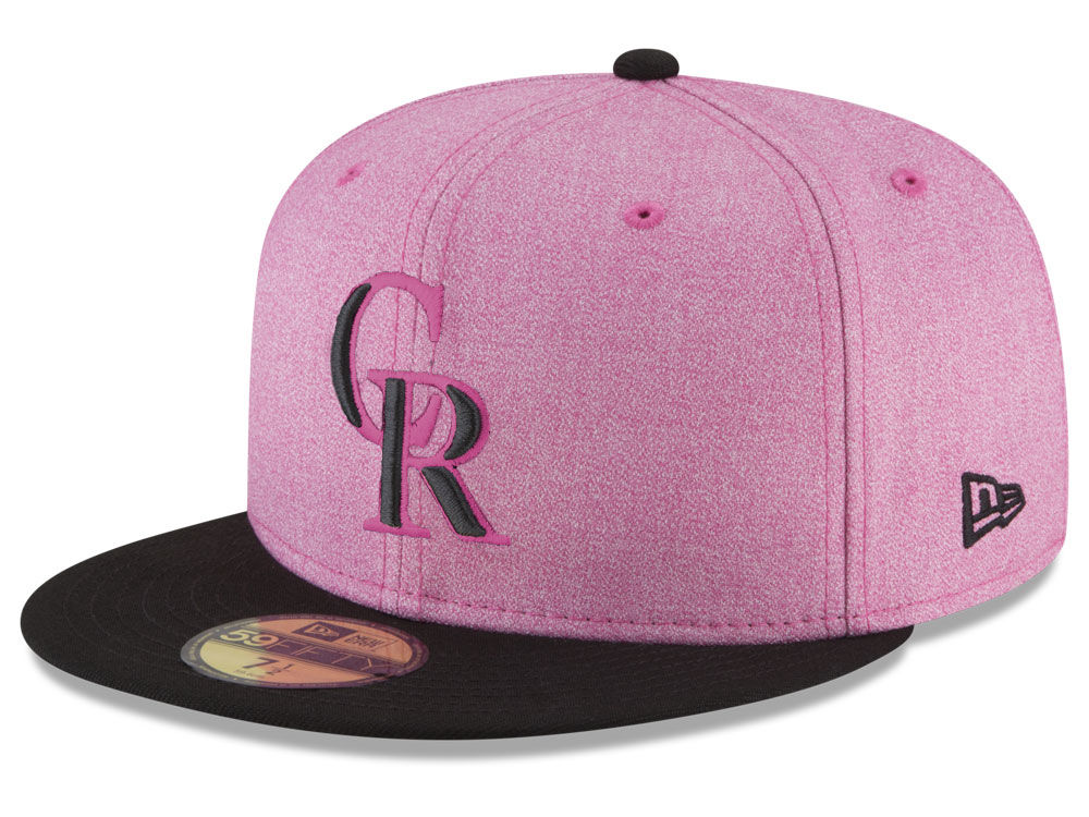 finest selection 6ef81 76b5d uk colorado rockies new era 2018 mlb mothers day 59fifty cap 4551a 4774c