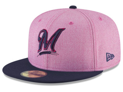 Milwaukee Brewers New Era 2018 MLB Mothers Day 59FIFTY Cap