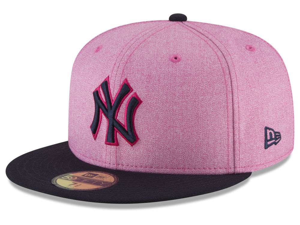23b15d298fd New York Yankees New Era 2018 MLB Mothers Day 59FIFTY Cap