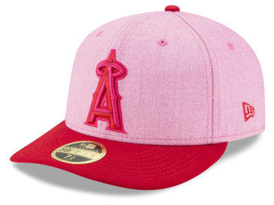 Los Angeles Angels New Era 2018 MLB Mothers Day Low Profile 59FIFTY Cap