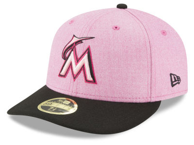 Miami Marlins New Era 2018 MLB Mothers Day Low Profile 59FIFTY Cap
