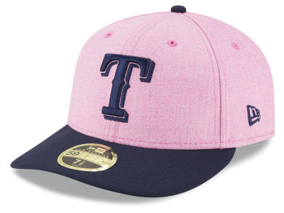 Texas Rangers New Era 2018 MLB Mothers Day Low Profile 59FIFTY Cap