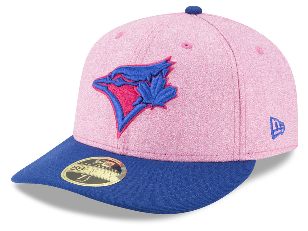 2aa3984cea7 ... new zealand toronto blue jays new era 2018 mlb mothers day low profile  59fifty cap a8a9b