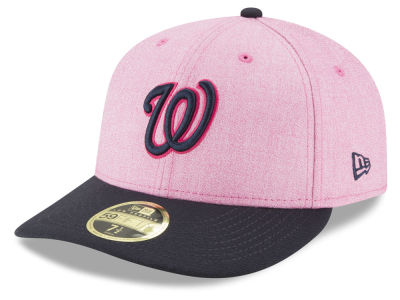 low priced fba43 937b3 ... uk washington nationals new era 2018 mlb mothers day low profile  59fifty cap 57362 12ca6